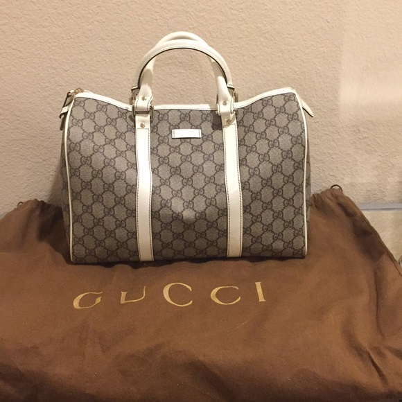 96a887fe7 Gucci Bags | Authentic Gg Plus Monogram Joy Boston Bag | Poshmark